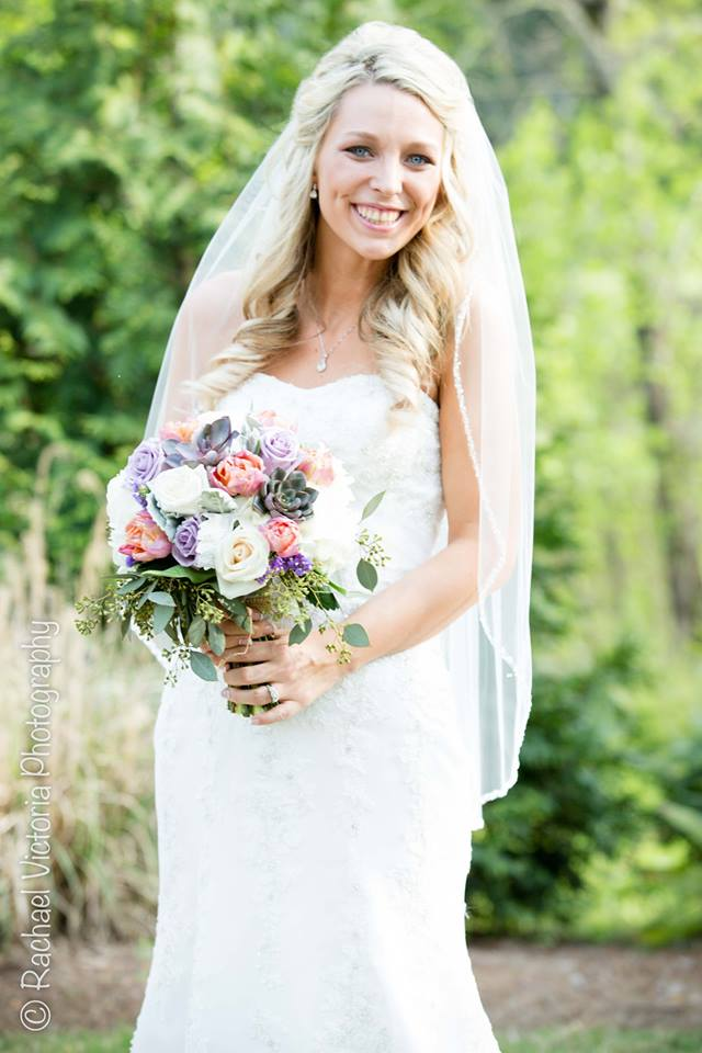 Bride and Bouquet (2)